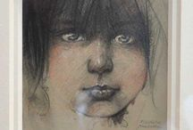 New Originals / Intimate studies and sketches that help Paul Murray create a finished masterpiece. Some times this process takes months, some years....enjoy this rare look inside the art of Paul Murray
