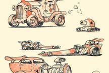 vehicles and machinery design