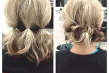 Hairstyles and ideas
