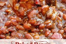Baked beans / by Hope Dotson