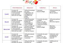 menu semaine