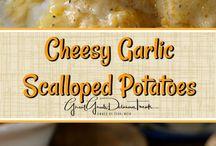 Potatoes Casserole (Cheesy Garlic) Oven Baked