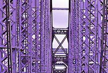purple bridge Cincinnati