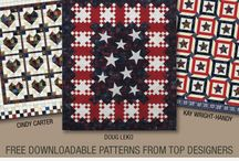 Quilted in Honor / by Doug Leko for Antler Quilt Design