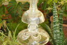 Vintage glass art