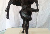 Minotaur debout / Bronze