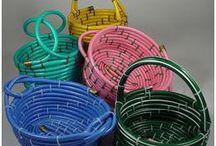 Repurposing- Garden Hoses // Újrahsznosítás-Kerti locsolócső
