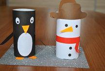 Paper roll craft / Pomysły z wykorzystaniem rolek papierowych. Ten projekt do wykorzystania podczas długich zimowych wieczorów. By Eventus