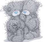 Tatty teddies / by Carol Stephens ✿