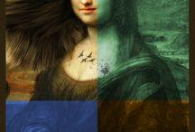 Mis garabatos / Retos de dibujo y pintura, diseño gráfico, ilustraciones, photoshop, illustrator...
