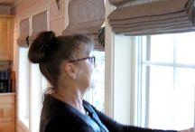 Gardiner / Ideer til hjemmesydde gardiner