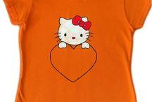Handmade T-shirts for kids