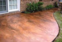 patio concrete paint