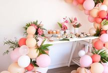 Party Inspiration: Flamingo Style / Tropical splendour inspired by the gorgeous vibrant pink hues of the flamingo