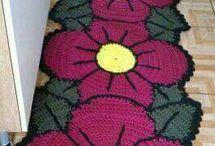 croshet rug