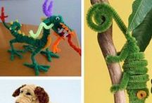 Pipe cleaners craft