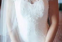 Wedding Dresses / Wedding dresses the day of the wedding #brides #bridalgown #weddingday #whiteweddingdress #chicagoweddings #weddingphotography