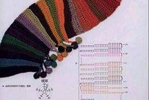 Crochet-cuellos-picos-chal
