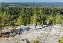 Traveling, Finland