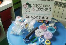 Talleres Cakes, Pops & Cookies / Sugarcaraft workshops for kids & adults! Actividades formativas en repostería para grandes y pekes.