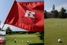 FORE! / Our staff and crew here at Rutgers work hard to maintain our beautiful golf course.