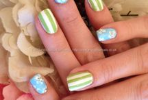 Nail art - spring/summer art / by Talia