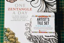My Zentangle Journey / A collection of work from my Zentangle journey
