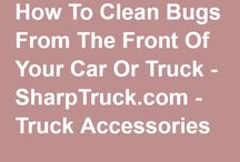Cleaning Your Vehicle / If you need to clean up your car, truck or SUV there are a tons of tips and products to help make it easier for you.