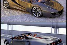 Horváth Szilárd Ferrari FT12 Spider concept