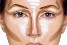 contour oval face make up