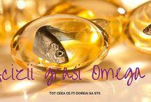 Omega 3 / Beneficiile exceptionale pentru sanatate ale acizilor grasi #Omega3.