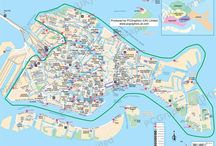 Maps of Venice / Here's a few maps of Venice, Italy, we've created over the years. Find out more about our maps on our website (http://www.pcgraphics.uk.com) or on our other Pinterest Boards.