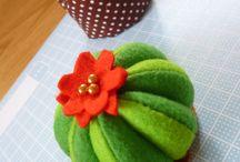 cactus pinc cushions