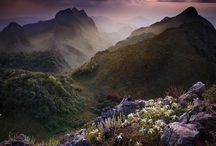 Thailand Limestone Mountain