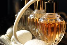 """Perfume Bottles / """"A woman's perfume tells more about her than her handwriting. """"  ― Christian Dior"""