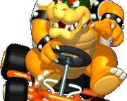 Mario Kart 64 / A collection of artwork, screenshots and other images from Mario Kart 64 on the Nintendo 64.  Visit http://www.superluigibros.com/mario-kart-64 for more information on this game.