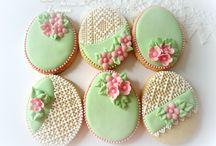Wielkanoc pisanki ciastka