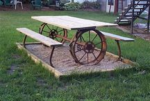 Piknikpöydät