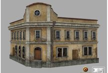 Architecture. GameArt. 3D. tmp
