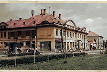 Színezett régi képeslapok / Kisújszállás régen