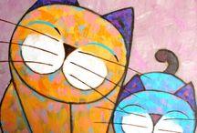 Koty do narysowania
