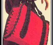 crochet breifcase