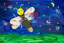 Art Class (Elementary/Preschool) / Here are ideas for a weekly art class with the younger kids (2-11 years) each week as part of our homeschool plan.