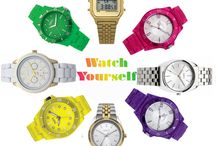 'Watch' Yourself / A watch is the perfect accessory for any outfit!
