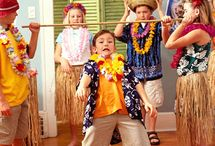 Fiesta Hawaiana, Supertribus / Ideas para organizar la mejor Fiesta Hawaiana.  Ideas for Hawaiian Parties.