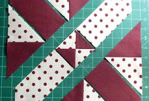 Quilting - disappearing 4 patch