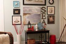 East coast items  basement