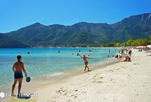Beaches to visit in Thassos / Beautiful beaches all around island.