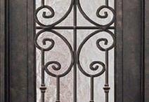 Puerta hierro exterior