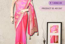 Georgette Silk Sarees / Vijayalakshmi - Beautiful Collection of Georgette Silk Sarees are available online in India at http://www.vijayalakshmisilks.com/sarees/georgette-sarees-online